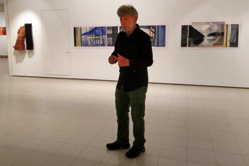 Bengt-Åke Malmqvist Imatra vernissage 2016