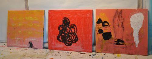 rosa målningar